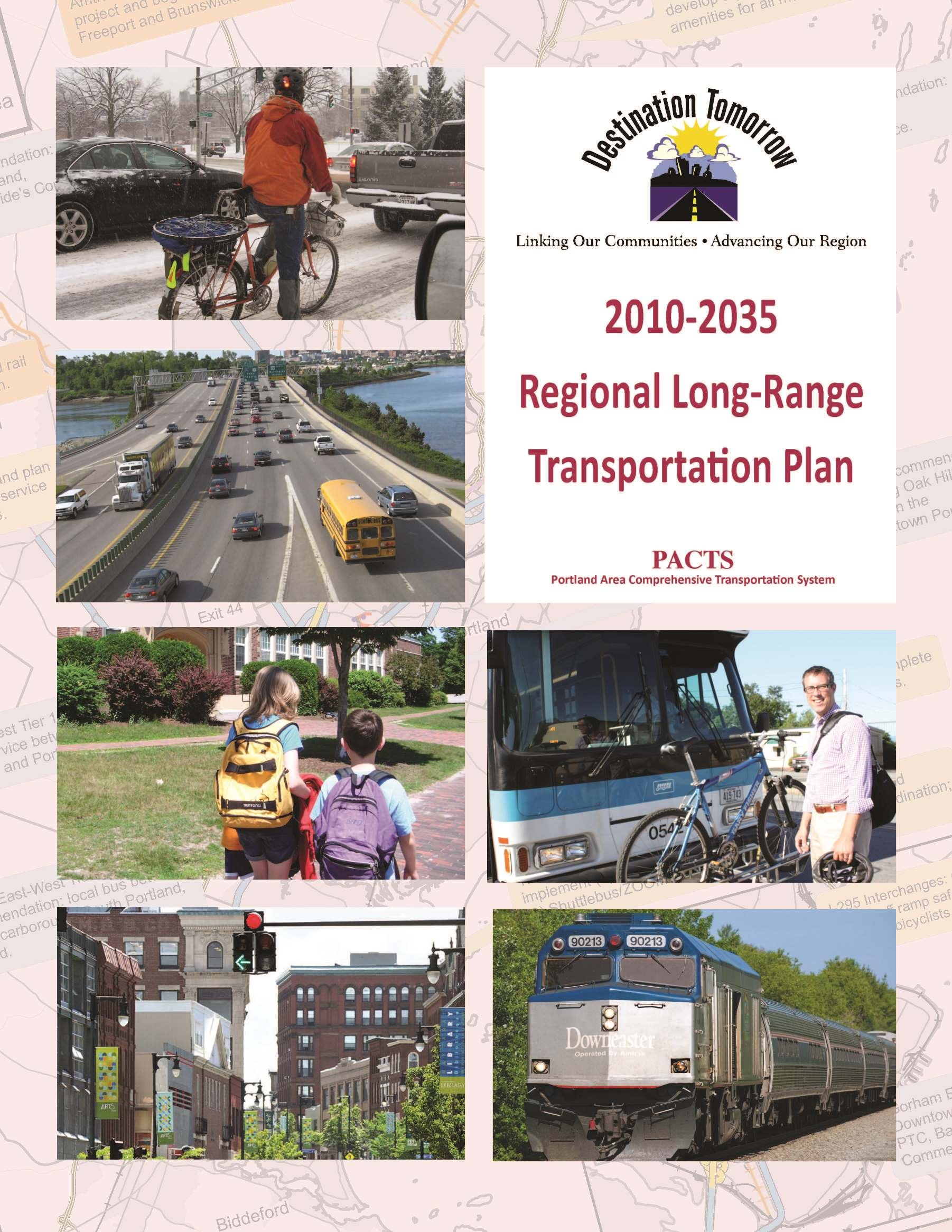 Destination Tomorrow 2010 Plan Cover