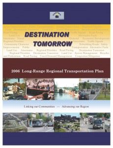 Destination Tomorrow 2006 Cover